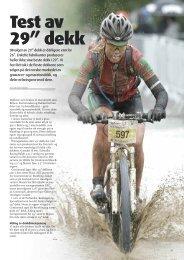 """Test av 29"""" dekk - Bern Hansen"""