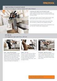Taglio facilitato di materiali isolanti Con la nuova sega per ... - Festool