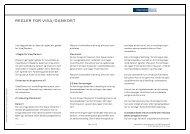 Regler for Visa/Dankort - Danske Bank