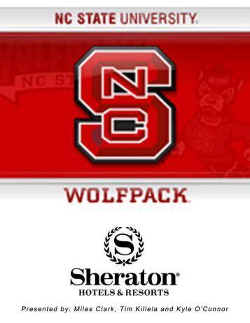 Sponsorship Proposal ? NCSU & Sheraton Hotel