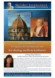En dialog mellem kulturer - Schiller Instituttet