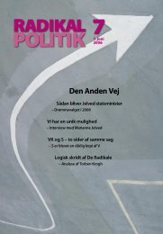 NY SIDE 12 Radikal Politik 7-2006.indd - Radikale Venstre