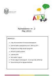 Nyhedsbrev nr. 2 Maj 2013 - Bupl