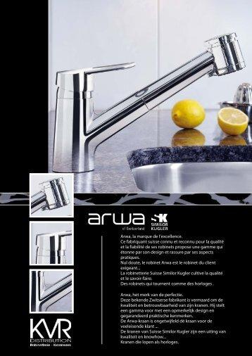 Arwa, la marque de l'excellence. Ce fabriquant suisse connu et ...