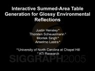 Interactive Summed-Area Table Generation for Glossy ...