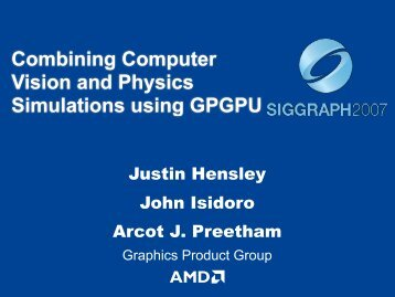 Slides - AMD Developer Central