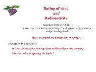 Dating of wine and radioactivity - LRT2006