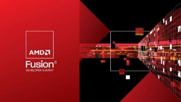 HPC-Lab - AMD Developer Central