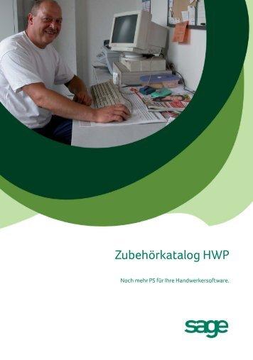 Zubehörkatalog HWP