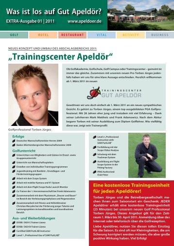 EXTRA-Ausgabe 01   2011 www.apeldoer.de - Golf Club Gut Apeldoer