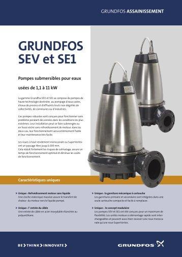 GRUNDFOS SEV et SE1