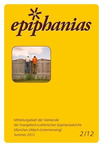 Sommer 2012 - Lutherische Epiphaniasgemeinde München