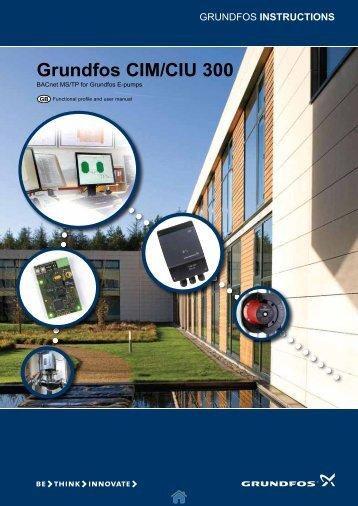 Grundfos CIM/CIU 300 - Energy-efficient pumps for commercial ...