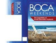 BOCA WEEKENDS - Intra-Lock
