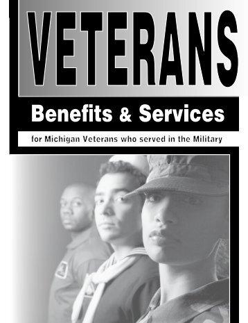Veterans Benefits and Services - Michigan Legislature - State of ...