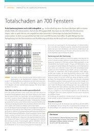 Können normale IV-68 Holzfenster in ein Pfosten-Riegel-System ...