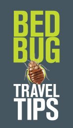 Travel - Bed bugs