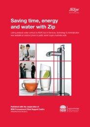 Saving time, energy and water with Zip - Netstarter