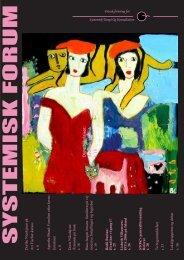 Systemisk Forum 0107.indd - STOK – Dansk forening for systemisk ...