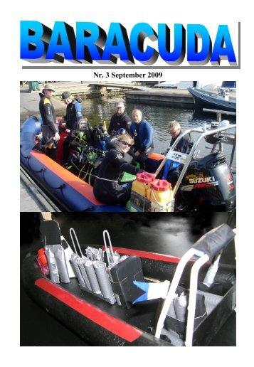 Nr. 3 September 2009 - Baracuda Dykkerklub