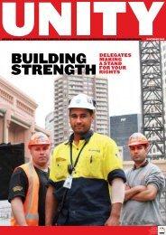 Unity Issue 47, November 2009 - cfmeu