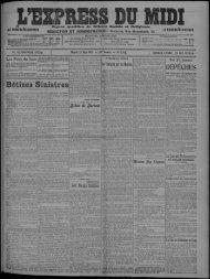 13 Mai 1913 - Bibliothèque de Toulouse
