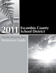 2011 Escambia County School District - the Escambia County ...