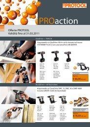 Offerte PROTOOL Validità fino al 31.03.2011 - Festool