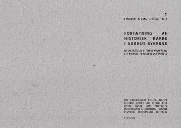 fortætning af historisk karré i aarhus bykerne - Rum - Arkitektskolen ...
