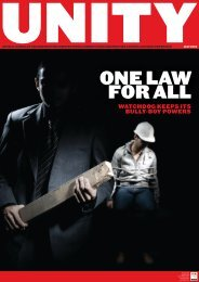Unity Issue 46, July 2009 - cfmeu