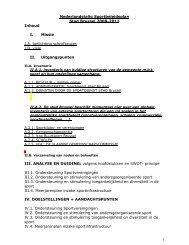 1 Nederlandstalig Sportbeleidsplan Stad Brussel 2008-2013 Inhoud ...