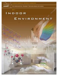 Indoor Environment Department - Environmental Energy ...