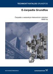Vícestupňová E-čerpadla - Grundfos
