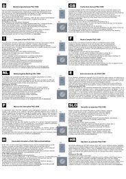 Bedienungsanleitung - Intertechno Funkhandsender PAR 1000