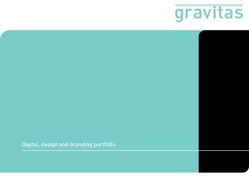 Digital, design and branding portfolio - Gravitas London