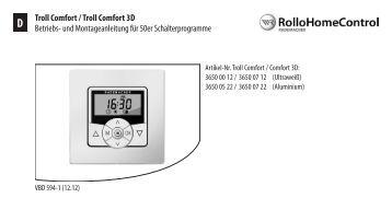 Zeitschaltuhr Modell Tdrct 01 Und Tdrct 01w