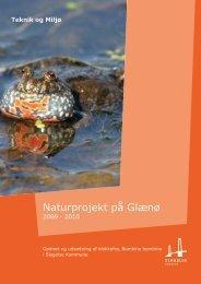 Naturplejeprojekt 2009-10 på Glænø - Slagelse Kommune