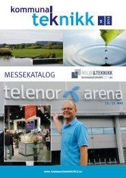 Messekatalog (pdf) - Hovedsiden - Norsk Kommunalteknisk Forening