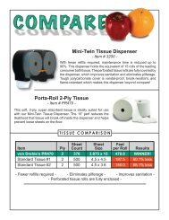 Porta-Roll 2-Ply Tissue - Myers Supply & Chemical