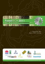 2 December 2011 Albury, NSW, Australia www - ForestTech Events