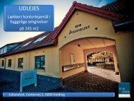 Se brochure med de ledige lejemål - Real Estate Development