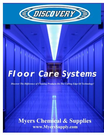 Floor Care Systems - Myers Supply & Chemical