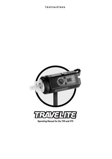 Calumet Travelite Manual - Stephen Grote
