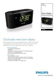 AJ3500/12 Philips Clockradio