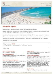 Australien og Bali - MyPlanet