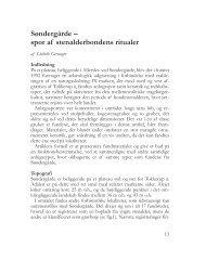 Søndergårde - spor af stenalderbondens ritualer - Roskilde Museum