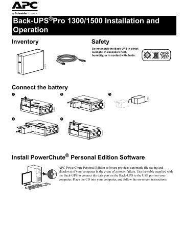 Smartups 1500 Repair Manual