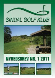 Marts - Sindal Golf Klub