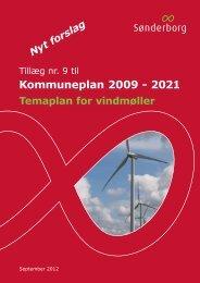 Kommuneplan 2009 - 2021 - Sønderborg