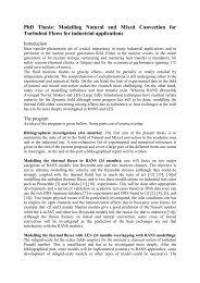 phd thesis - Turbulence Mechanics/CFD Group
